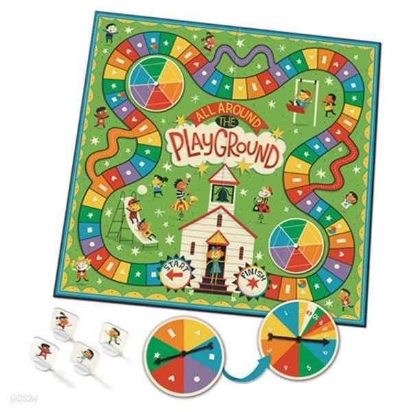 교육완구 러닝리소스 EDU 3480 All Around The Playground™ - Shapes, Colors and Counting Game
