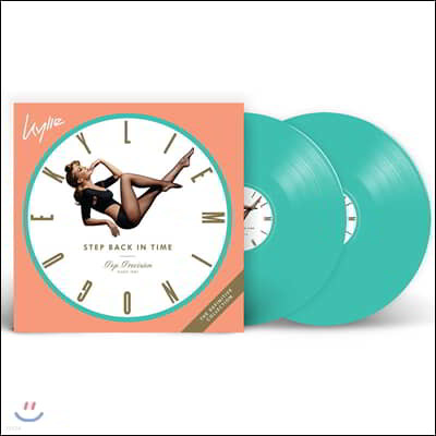 Kylie Minogue - Step Back in Time: The Definitive Collection 카일리 미노그 히트곡 모음집 [민트 그린 컬러 2LP]