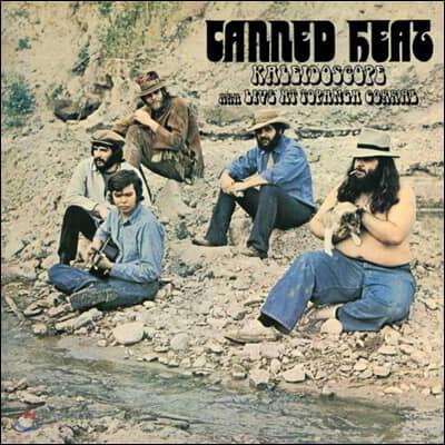 Canned Heat - Live at Topanga Corral (kaleidoscope) 캔드 히트 1969년 라이브 실황 [스플래터 컬러 LP]