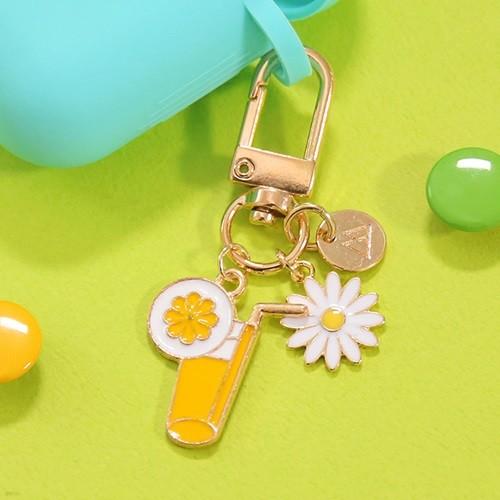 [50%할인] KEY RING- 옐로우 레몬 쥬시