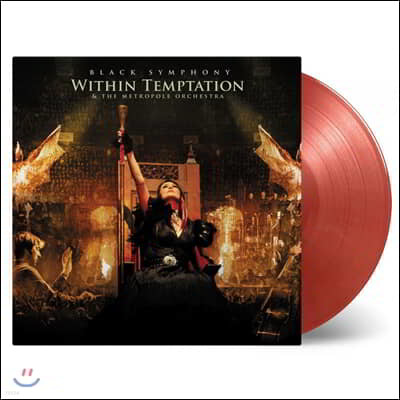 Within Temptation (위딘 템테이션) - Black Symphony [골드 & 레드 컬러 3LP]