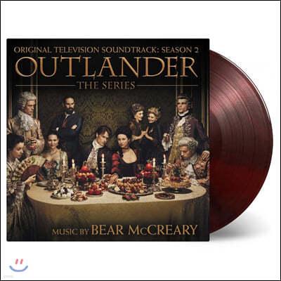 아웃랜더 시즌2 드라마음악 (Outlander Season 2 Original Television Soundtrack by Bear Mccreary 베어 맥크레리) [레드 & 블랙 컬러 2LP]