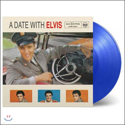 Elvis Presley (엘비스 프레슬리) - A Date With Elvis [블루 컬러 LP]