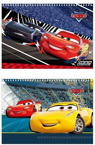디즈니 카스 Cars 스케치북 3000
