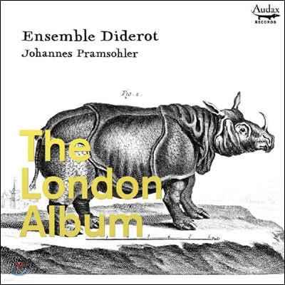 Johannes Pramsohler 런던 앨범 - 초기 잉글랜드의 트리오 소나타집 (The London Album)