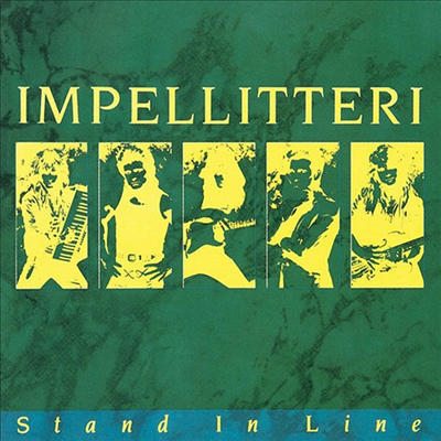 Impellitteri - Stand In Line (Ltd. Ed)(일본반)(CD)