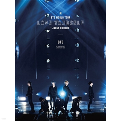 방탄소년단 (BTS) - World Tour 'Love Yourself' -Japan Edition- (3Blu-ray) (초회한정반)(Blu-ray)(2019)