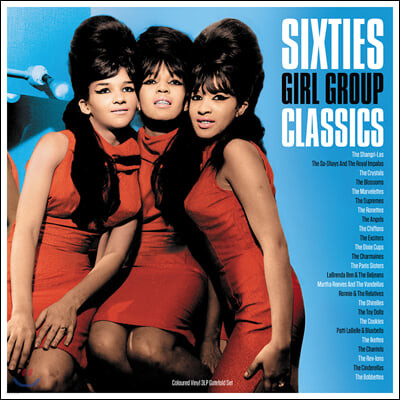 1960년대 여성 그룹 명곡 모음집 (Sixties Girl Group Classics) [블루 컬러 3LP]
