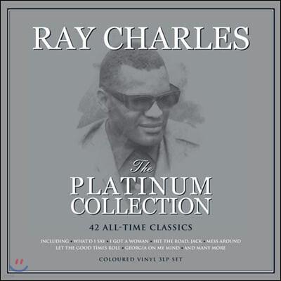 Ray Charles (레이 찰스) - The Platinum Collection [화이트 컬러 3LP]