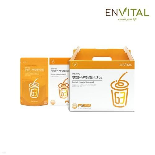 엔바이탈 맛있는 단백질쉐이크63 (30포)