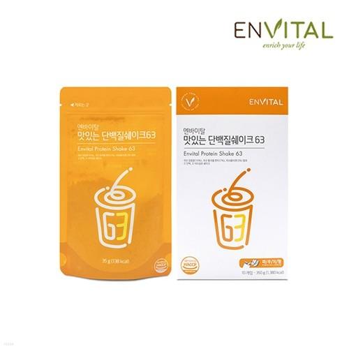 엔바이탈 맛있는 단백질쉐이크63 (10포)