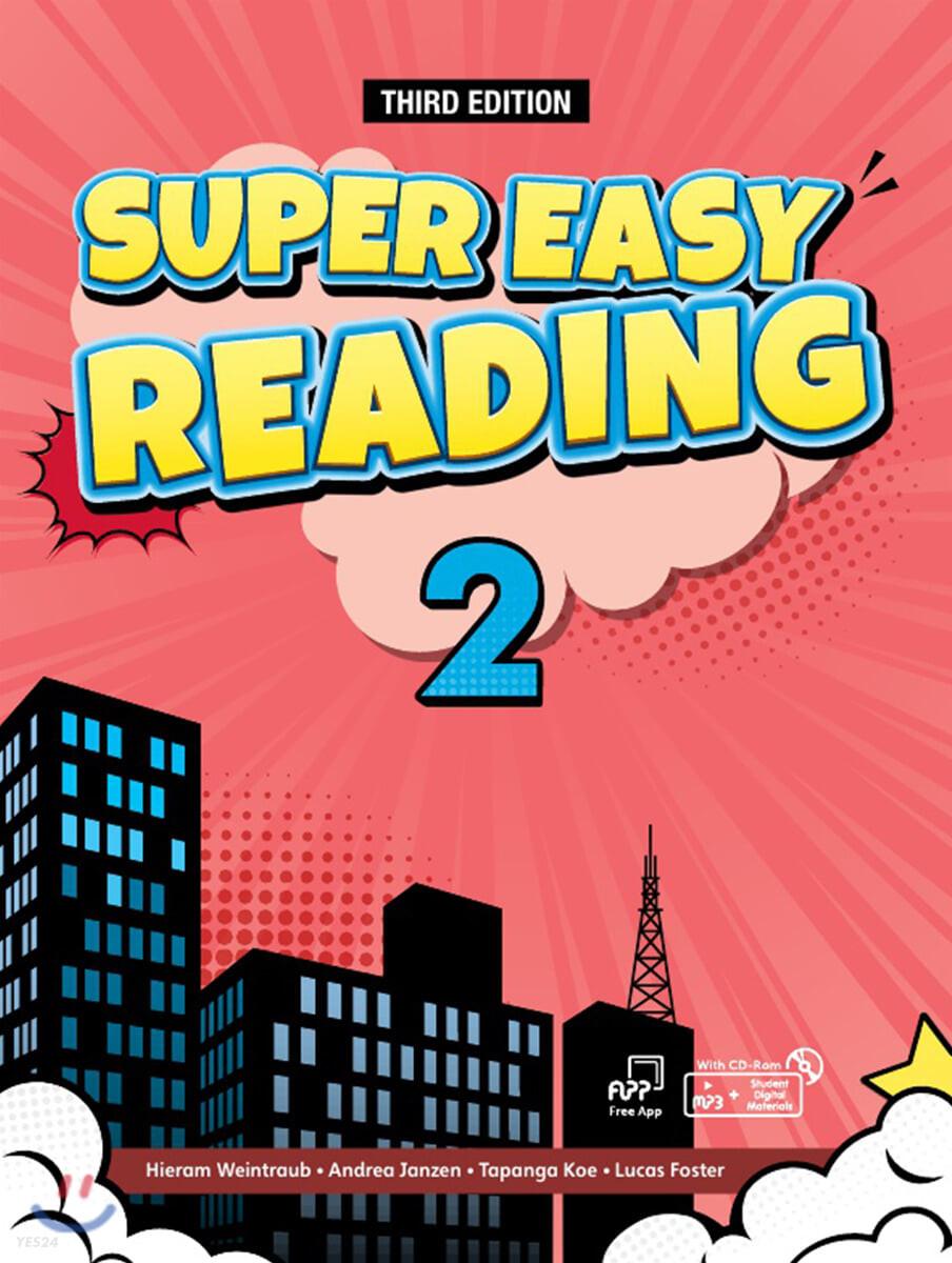 Super Easy Reading 2 : Work Book, 3/E