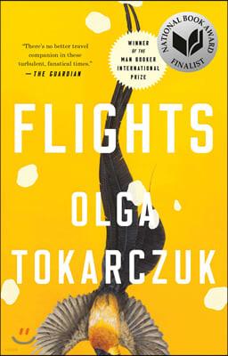 Flights : 2019 노벨문학상 올가 토카르축 방랑자들 영문판