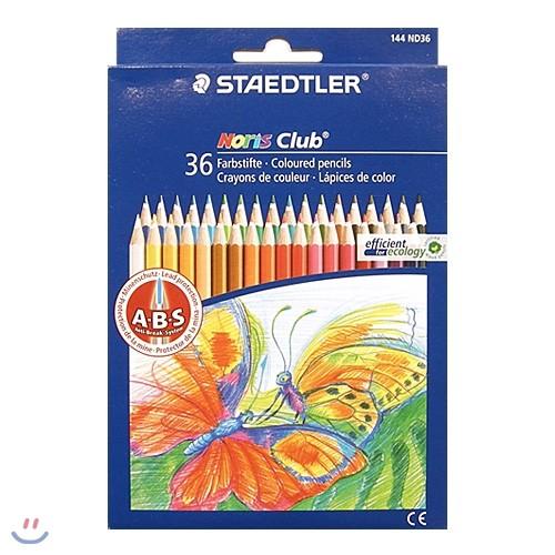 [YES24총알배송] 스테들러 144 ND36 노리스클럽 색연필 36색세트