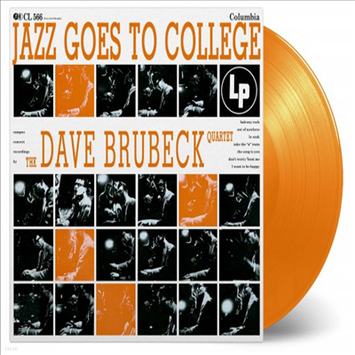 Dave Brubeck Quartet - Jazz Goes To College (Ltd. Ed)(180G)(Orange Vinyl)(LP)