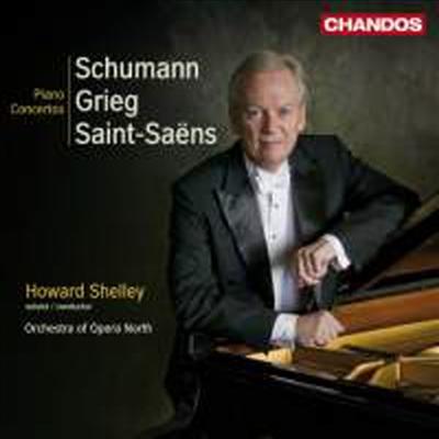 슈만, 그리그 & 생상스 : 피아노 협주곡 (Grieg, Schumann & Saint-Sanes : Piano Concertos) - Howard Shelley