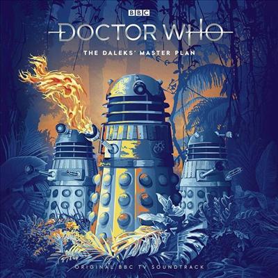 O.S.T. - Doctor Who: The Daleks' Master Plan (닥터 후)(O.S.T.)(Ltd. Ed)(180G)(Translucent Blue 7LP)