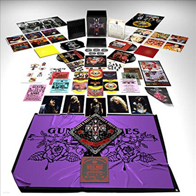 "Guns N' Roses - Appetite For Destruction - Locked N' Loaded (Ltd. Ed)(7LP+4 CD+Blu-ray Audio+7 Singles 7"" LP+USB)(Boxset)"