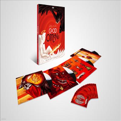 O.S.T. - Good Omens (멋진 징조들) (Soundtrack)(180g Colored 4LP Box Set)