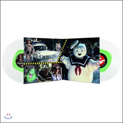 고스트 버스터즈 영화음악 (Ghostbusters OST by Elmer Bernstein) [투명 컬러 2LP]