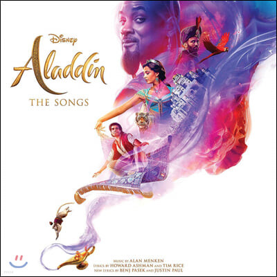 알라딘 영화음악 (Aladdin 2019 : The Songs OST) [LP]