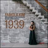 파비올라 김 (김화라) - 윌리엄 월튼 / 카를 하르트만 / 바르톡: 바이올린 협주곡 모음집 (Fabiola Kim - 1939)