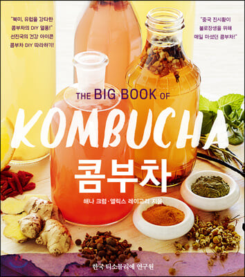 THE BIG BOOK OF KOMBUCHA 콤부차