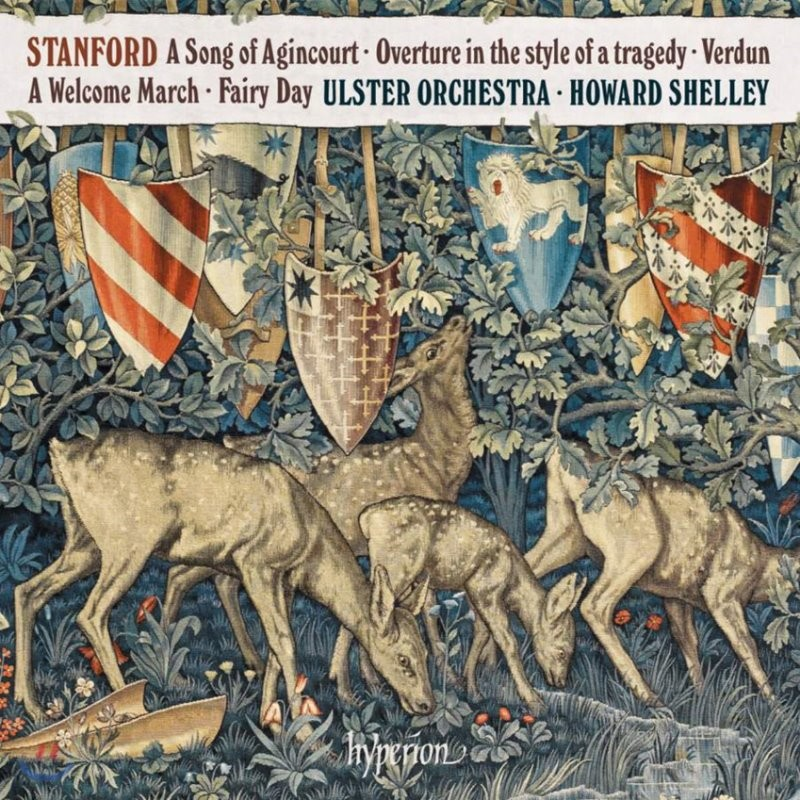 Howard Shelley 스탠포드: 아쟁쿠르의 노래 (Charles Villiers Stanford: A Song of Agincourt)