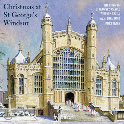 James Vivian 세인트 조지 예배당의 크리스마스 (Christmas at St George's Windsor)