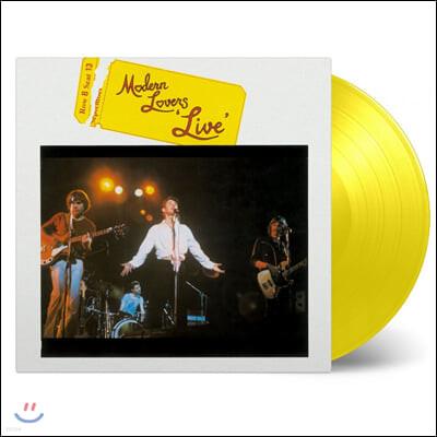 Modern Lovers (모던 러버스) - Live [옐로우 컬러 LP]