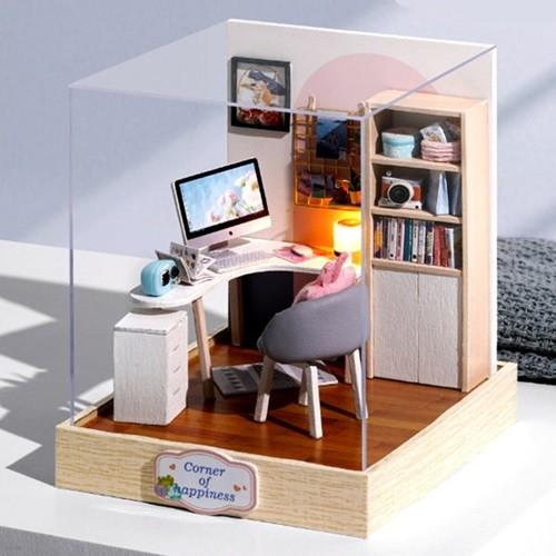 [adico] DIY 미니어처 스페셜 키트 - 공부방