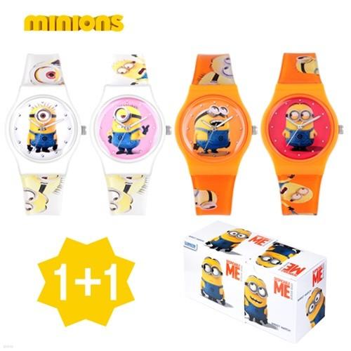 [YES24단독특가][1+1][minions]미니언즈 캐릭터 손목시계 M1606 4종