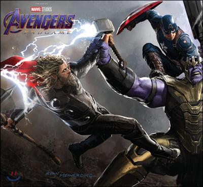 Marvel's Avengers: Endgame : The Art of The Movie 마블 어벤져스 엔드게임 공식 컨셉 아트북