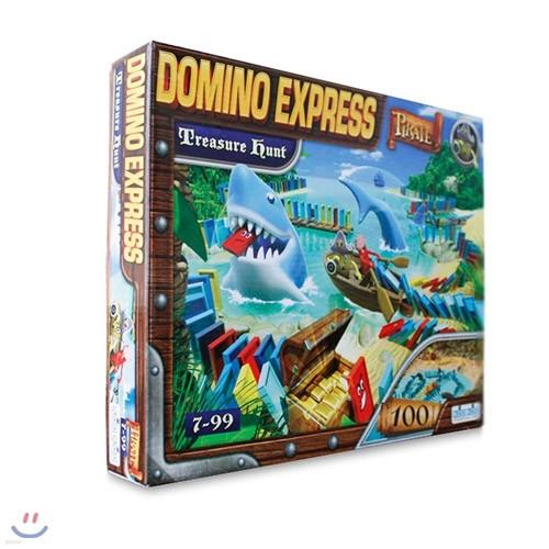 [코리아보드게임즈] 해적 도미노 보물 사냥 Domino Express Treasure Hunt
