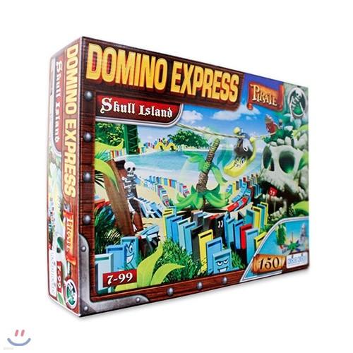 [코리아보드게임즈] 해적 도미노 해골섬의 비밀 Domino Express Skull Island