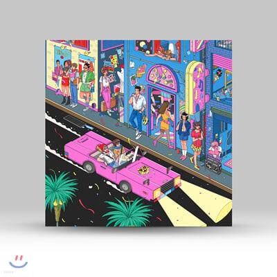 동아기획 쿨사운드 모음집 (Our Town: Jazz Fusion, Funky Pop & Bossa Gayo Tracks from Dong-A Records) [투명 블루 컬러 LP]