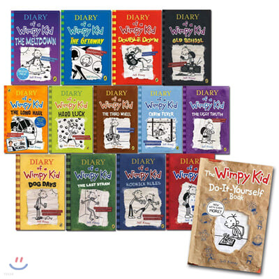 Diary of a Wimpy Kid Set : Book 1-13 & DIY Book (영국판)