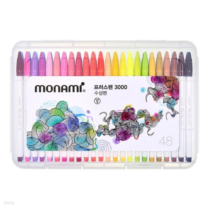 모나미 플러스펜 48 Plus Pen 3000 (PP:48C)