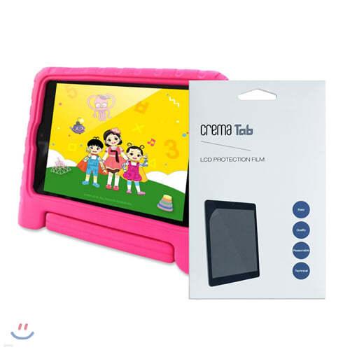EBS KIDS 야호패드 (핑크 케이스) + 액정보호필름