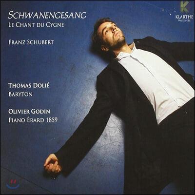 Thomas Dolie 슈베르트: 백조의 노래, 마왕, 어부의 노래 외 - 토마스 둘리 (Schubert: Schwanengesang)