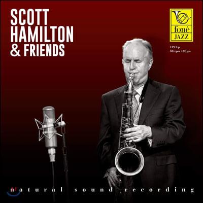 Scott Hamilton (스콧 해밀튼) - Scott Hamilton & Friends [LP]