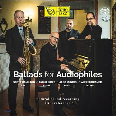 Scott Hamilton (스콧 해밀튼) - Ballads For Audiophile