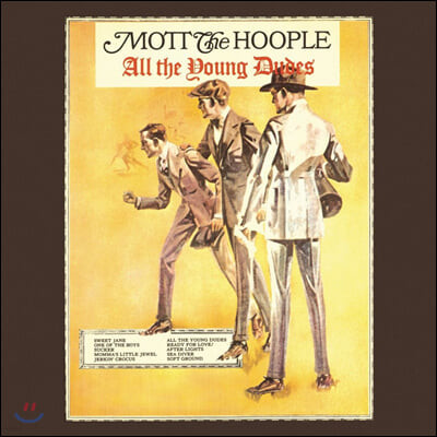 Mott The Hoople (모트 더 후플) - 5집 All the Young Dudes [LP]