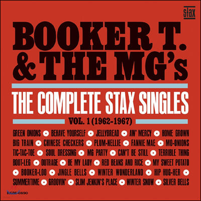 Booker T. & The MG's (부커티 앤 더 엠지스) - The Complete Stax Singles Vol. 1 (1962-1967)