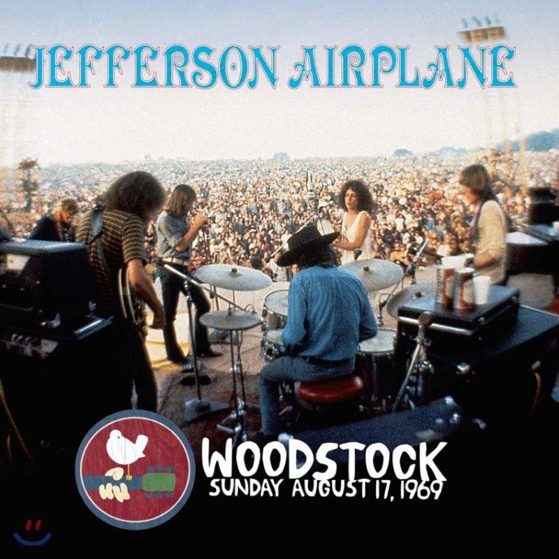 Jefferson Airplane (제퍼슨 에어플레인) - Woodstock Sunday August 17, 1969 [바이올렛 컬러 3LP]