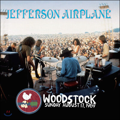 Jefferson Airplane (제퍼슨 에어플레인) - Woodstock Sunday August 17, 1969 [바이올렛 컬러 3LP]
