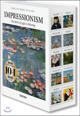 Basic Art Series: TEN in ONE. Impressionism