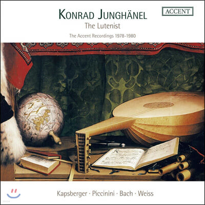 콘라트 융헤넬의 류트 음악 작품집 (Konrad Junghanel - The Lutenist)