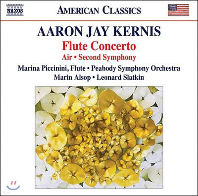 Marina Piccinini 아론 제이 커니스: 플루트 협주곡, 에어, 교향곡 (Aaron Jay Kernis: Flute Concerto, Air, Symphony)