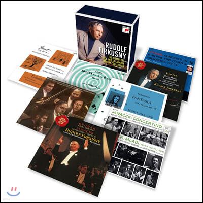 Rudolf Firkusny 루돌프 피르쿠츠니 RCA, 콜롬비아 레이블 녹음 모음집 (The Complete RCA and Columbia Album Collection)